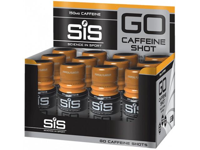 SiS Coffein Shot Box 12x60ml Tropical